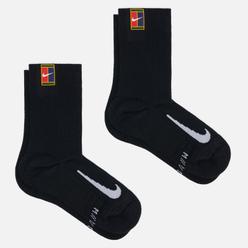 Комплект носков Nike 2-Pack Multiplier Crew Cushioned Black/Black