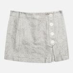 Женская юбка Maison Kitsune Aline Silver фото- 0