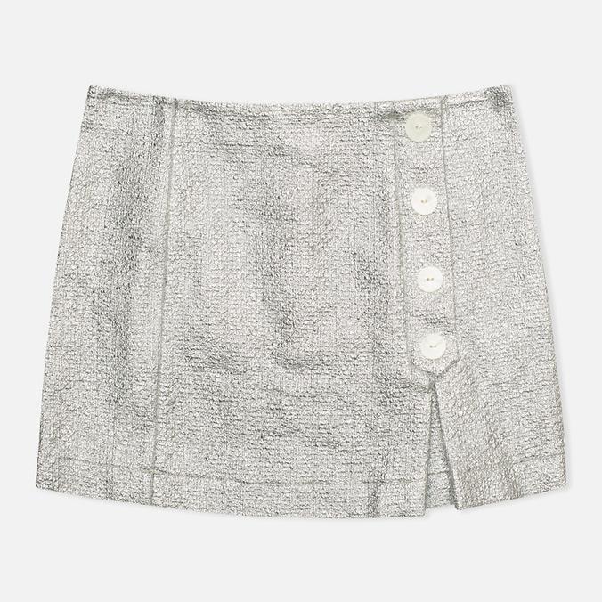 Женская юбка Maison Kitsune Aline Silver