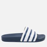 adidas Originals Adilette Slides Adiblue/White photo- 0