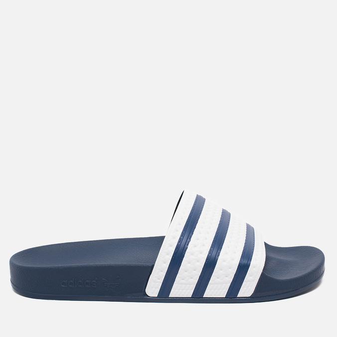 Сланцы adidas Originals Adilette Adiblue/White