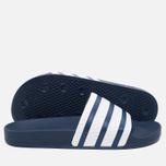 Сланцы adidas Originals Adilette Adiblue/White фото- 2