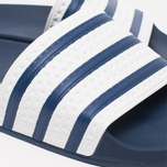 adidas Originals Adilette Slides Adiblue/White photo- 4