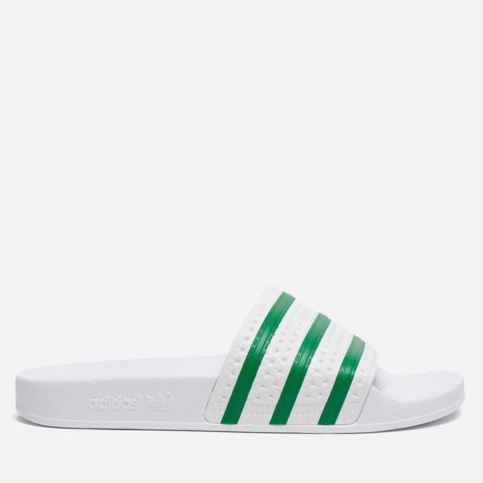 Сланцы adidas Originals Adilette Running White/Green