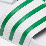 Сланцы adidas Originals Adilette Running White/Green фото- 1