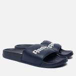 Сланцы Reebok Classic Slide Collegiate Navy/White фото- 2