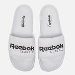 Сланцы Reebok Classic Slide White/Black фото- 4