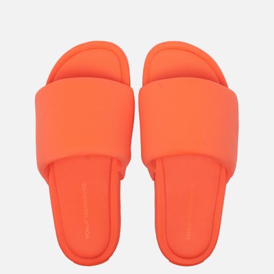 Мужские сланцы Y-3 Slide Solar Orange/Solar Orange/Solar Orange