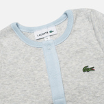 Набор детских пижам Lacoste Baby Boy 2 Sleepsuits Atmosphere/Paladium Chine фото- 2