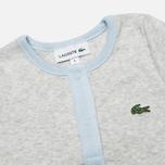 Lacoste Baby Boy 2 Sleepsuits Children's pyjamas set Atmosphere/Paladium Chine photo- 2