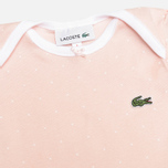 Набор детских пижам Lacoste Baby Girl 2 Sleepsuits Nymph/White фото- 3