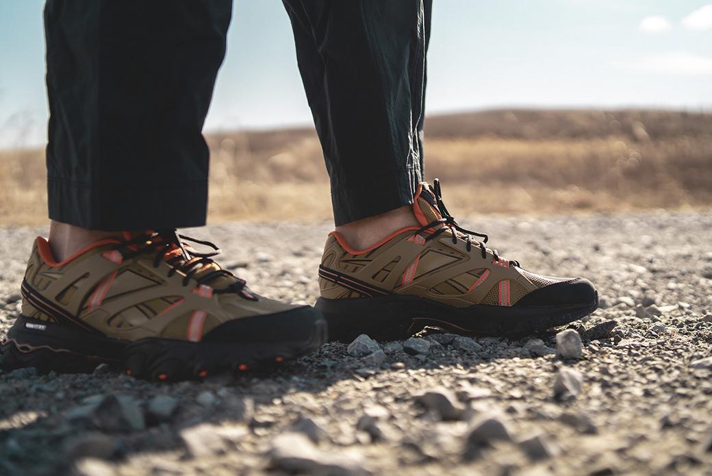 Reebok × Eastlogue DMX Trail Shadow: горные тропы Азии