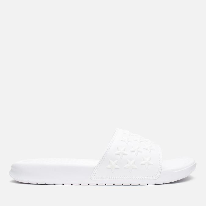 Мужские сланцы Nike Benassi JDI QS White