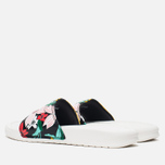 Женские сланцы Nike Benassi JDI Print Sail/Black/Artisan Teal фото- 2