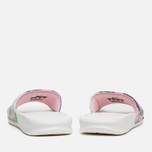 Женские сланцы Nike Benassi JDI Print Sail/Purple/Pink Glaze фото- 3