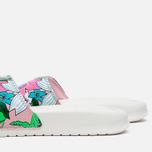 Женские сланцы Nike Benassi JDI Print Sail/Purple/Pink Glaze фото- 5