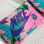 Женские сланцы Nike Benassi JDI Print Sail/Purple/Pink Glaze фото- 6