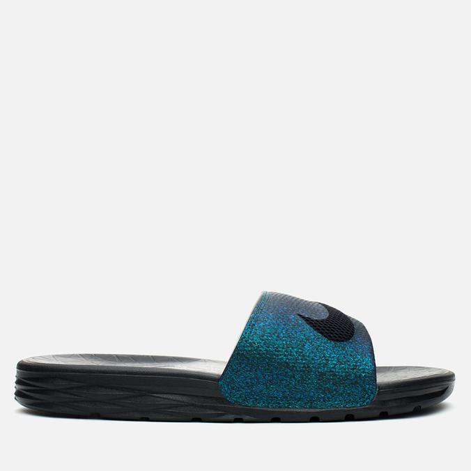 Nike Benassi Solarsoft SLD2 WC QS Women's Slides Teal/Black/Vapor Green