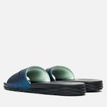 Nike Benassi Solarsoft SLD2 WC QS Women's Slides Teal/Black/Vapor Green photo- 2