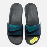 Nike Benassi Solarsoft SLD2 WC QS Women's Slides Teal/Black/Vapor Green photo- 4