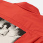 Мужская рубашка Fred Perry x Raf Simons Oversized Printed Patch Lipstick Red фото - 2
