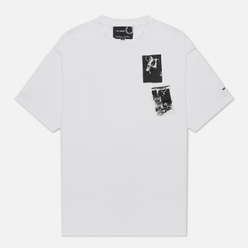 Мужская футболка Fred Perry x Raf Simons Printed Patch White