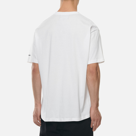Мужская футболка Fred Perry x Raf Simons Printed Patch White