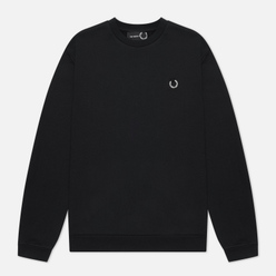 Мужская толстовка Fred Perry x Raf Simons Laurel Wreath Detail Black