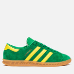 Кроссовки adidas Originals Hamburg Green/Yellow/Gum фото- 0