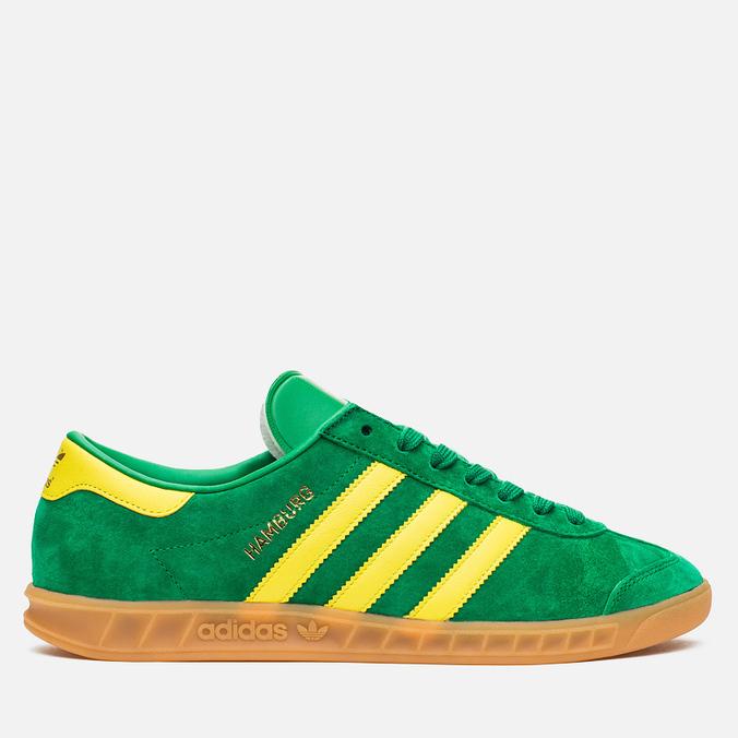 Кроссовки adidas Originals Hamburg Green/Yellow/Gum