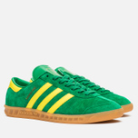 Кроссовки adidas Originals Hamburg Green/Yellow/Gum фото- 1