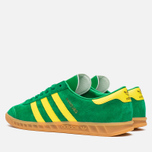Кроссовки adidas Originals Hamburg Green/Yellow/Gum фото- 2