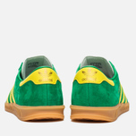 Кроссовки adidas Originals Hamburg Green/Yellow/Gum фото- 3