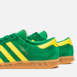 Кроссовки adidas Originals Hamburg Green/Yellow/Gum фото- 5