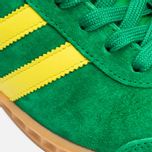 Кроссовки adidas Originals Hamburg Green/Yellow/Gum фото- 7