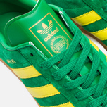 Кроссовки adidas Originals Hamburg Green/Yellow/Gum фото- 6