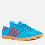 Кроссовки adidas Originals Hamburg Solar Blue/Red/Gum фото- 1