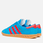 Кроссовки adidas Originals Hamburg Solar Blue/Red/Gum фото- 2