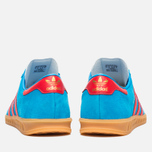 Кроссовки adidas Originals Hamburg Solar Blue/Red/Gum фото- 3