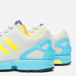 Мужские кроссовки adidas Originals ZX Flux GID Clear Grey/Yellow/Bright Cyan фото- 7