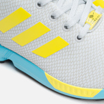 Мужские кроссовки adidas Originals ZX Flux GID Clear Grey/Yellow/Bright Cyan фото- 5
