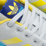 Мужские кроссовки adidas Originals ZX Flux GID Clear Grey/Yellow/Bright Cyan фото- 6