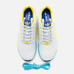 Мужские кроссовки adidas Originals ZX Flux GID Clear Grey/Yellow/Bright Cyan фото- 4