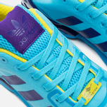 Кроссовки adidas Originals ZX Flux Techfit Aqua OG Bright Cyan/Collegiate Purple фото- 6