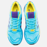 Кроссовки adidas Originals ZX Flux Techfit Aqua OG Bright Cyan/Collegiate Purple фото- 4