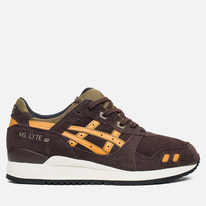 Мужские кроссовки ASICS Gel-Lyte III Bamboo Pack Dark Brown/Tan