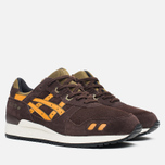 Мужские кроссовки ASICS Gel-Lyte III Bamboo Pack Dark Brown/Tan фото- 1
