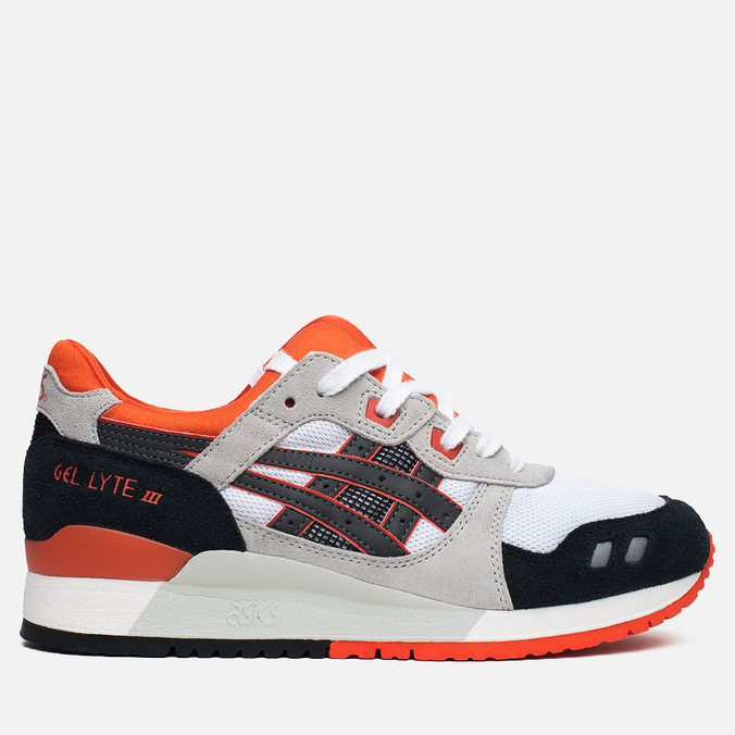 Мужские кроссовки ASICS Gel-Lyte III Black/Orange/White