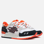 Мужские кроссовки ASICS Gel-Lyte III Black/Orange/White фото- 1