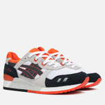 Asics Gel-Lyte III Men's Sneakers Black/Orange/White photo- 1